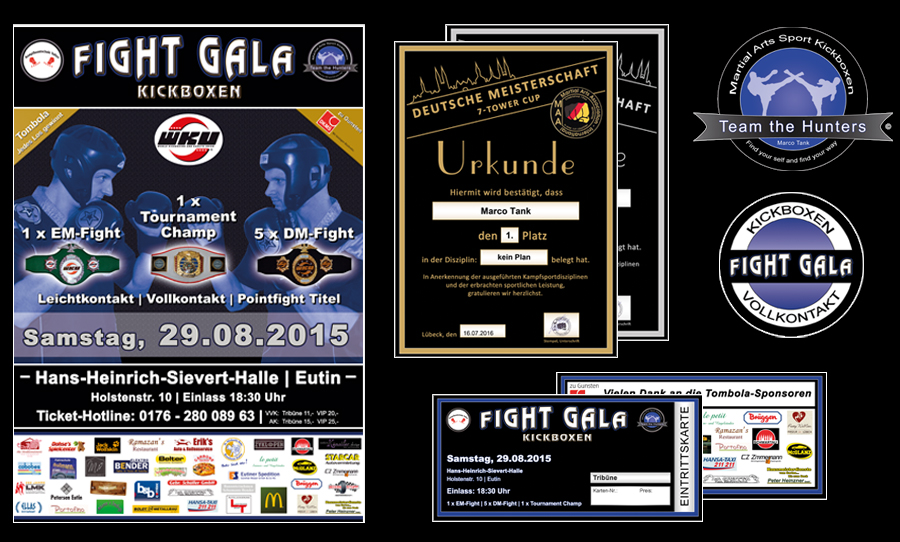 Printmedien Fight Gala