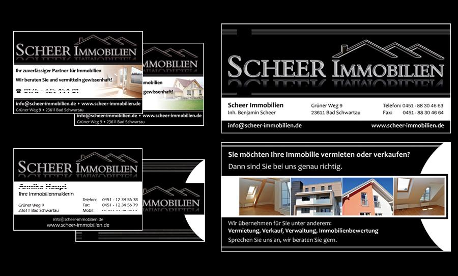 Printmedien Scheer Immobilien