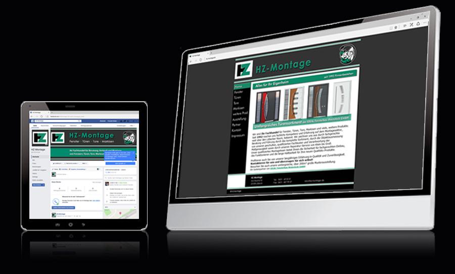 Webdesign HZ Montage