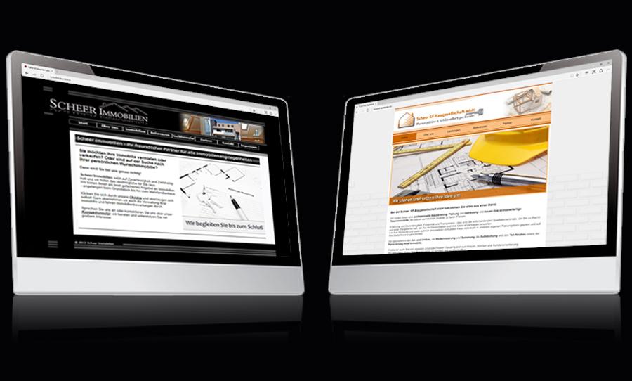 Webdesign Scheer